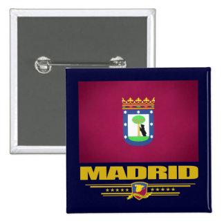 Ciudad de Madrid Pins