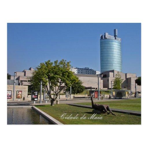 Ciudad de Maia, Portugal Postales