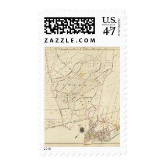 Ciudad de Mamaroneck, Nueva York Sello Postal