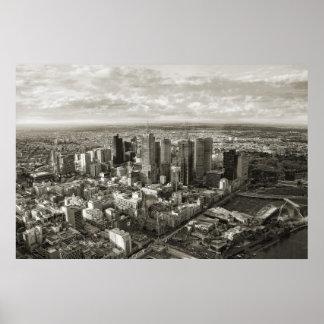 Ciudad de Melbourne Póster