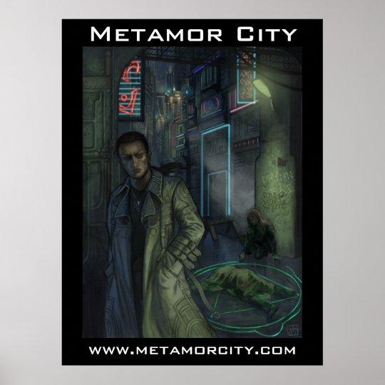 Ciudad de Metamor: Escena del crimen Póster