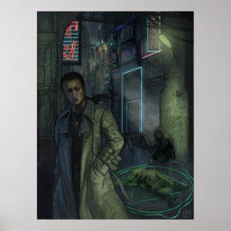 Ciudad de Metamor Escena del crimen Posters