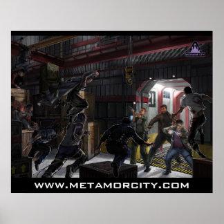 Ciudad de Metamor: Haciendo el poster del corte (c