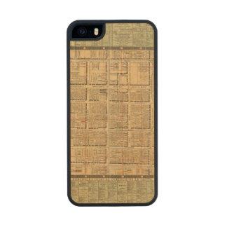 Ciudad de México 3 Funda De Arce Carved® Para iPhone 5