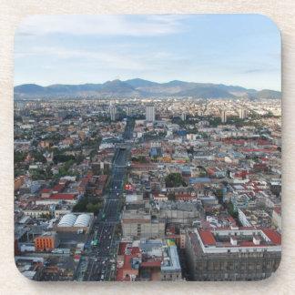 Ciudad de México, visión aérea que parece del Posavasos De Bebida