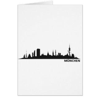 Ciudad de München - Stadt Tarjeta De Felicitación