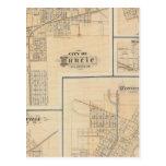 Ciudad de Muncie, Delaware Co con Yorktown Postales