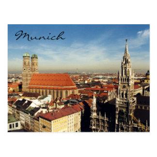 ciudad de Munich Tarjetas Postales