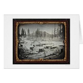 Ciudad de Nevada, 1852 de José Blaney Starkweather Tarjeta De Felicitación