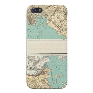 Ciudad de NY Brooklyn iPhone 5 Cárcasas