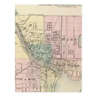 Ciudad de Oshkosh, asiento de condado del Postal