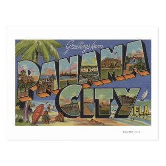 Ciudad de Panamá la Florida - escenas grandes de Postales