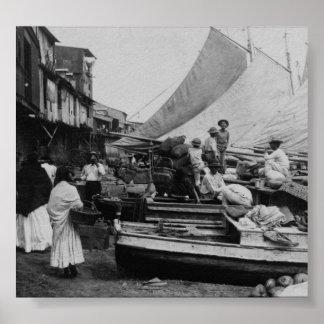 Ciudad de Panamá Panamá Markey 1907 Posters