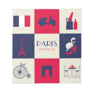 Ciudad de París Blocs De Notas