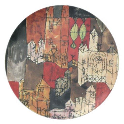 Ciudad de Paul Klee- de iglesias Plato
