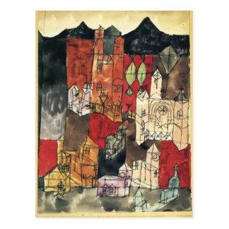 Ciudad de Paul Klee- de iglesias Postal