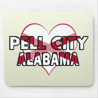 Ciudad de Pell, Alabama Mouse Pad