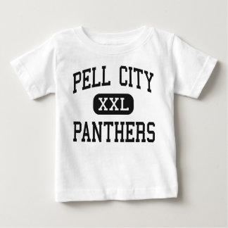 Ciudad de Pell - panteras - alta - ciudad Alabama T-shirt