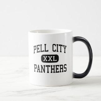 Ciudad de Pell - panteras - alta - ciudad Alabama  Taza Mágica