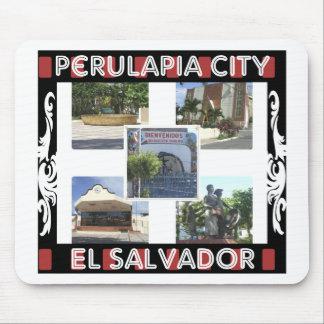 Ciudad de Perulapía Alfombrillas De Ratones