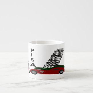 Ciudad de Pisa Taza Espresso