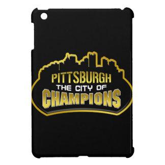 Ciudad de Pittsburgh caso del iPad de los campeone iPad Mini Protectores