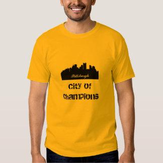 Ciudad de Pittsburgh de campeones Camisas