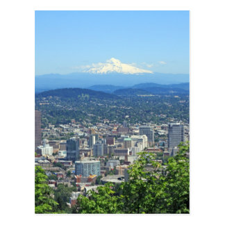 Ciudad de Portland Oregon y Mountain View