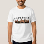 Ciudad de Portland Playera