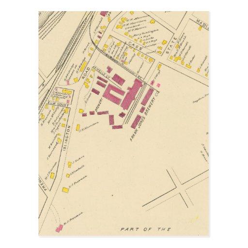 Ciudad de Portsmouth 4 Tarjetas Postales
