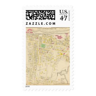 Ciudad de Portsmouth Timbres Postales