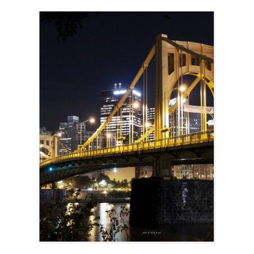 Ciudad de puentes tarjetas postales