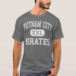 Ciudad de Putnam - piratas - alta - Oklahoma City Playera