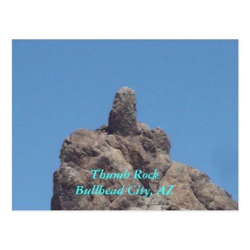 Ciudad de RockBullhead del pulgar, AZ Tarjetas Postales