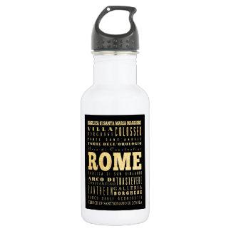 Ciudad de Roma del arte de la tipografía de Italia