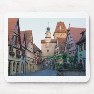 Ciudad de Rothenburg, Alemania Mousepads