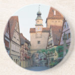 Ciudad de Rothenburg, Alemania Posavasos Personalizados