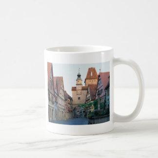 Ciudad de Rothenburg Alemania Tazas De Café