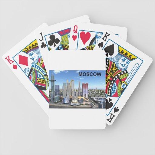 Ciudad de Rusia Moscú (Kan.K) Baraja