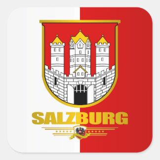 Ciudad de Salzburg Pegatina Cuadrada