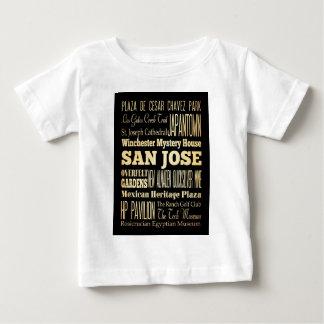 Ciudad de San Jose del arte de la tipografía del Playera