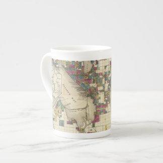Ciudad de Seattle y de los alrededores Taza De Porcelana