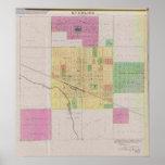 Ciudad de Sterling, el condado de Rice, Kansas Póster