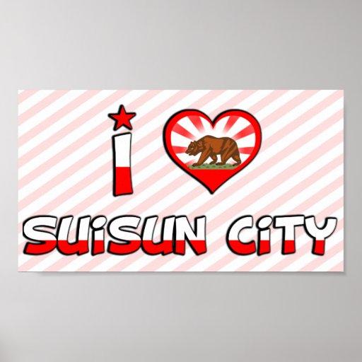 Ciudad de Suisun, CA Impresiones