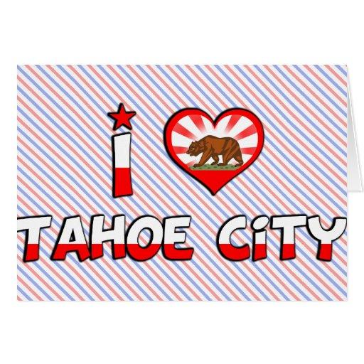 Ciudad de Tahoe, CA Felicitaciones