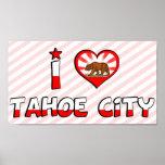 Ciudad de Tahoe, CA Impresiones