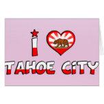 Ciudad de Tahoe, CA Tarjeton