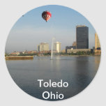 Ciudad de Toledo Ohio Etiquetas