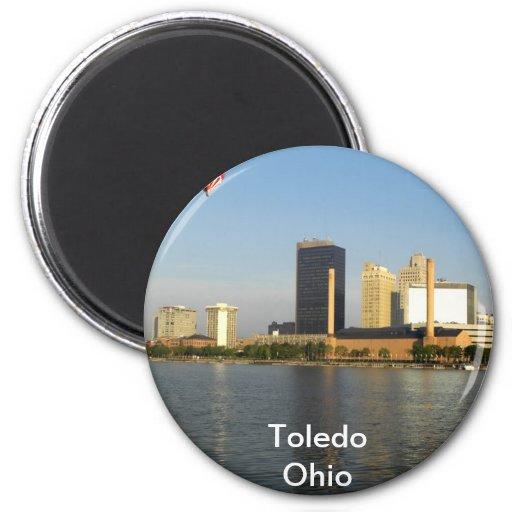 Ciudad de Toledo Ohio Iman De Frigorífico