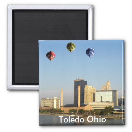 Ciudad de Toledo Ohio Imán De Nevera